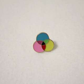 Minimal Color Enamel Pin