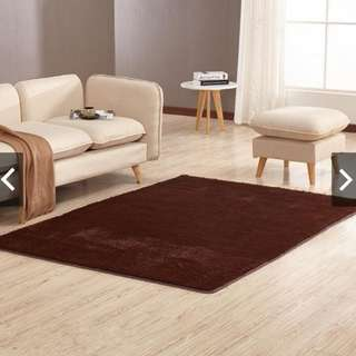 Rectangular coffee table sofa bedside carpet