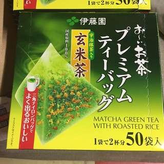 伊藤園 玄米茶包 50袋裝