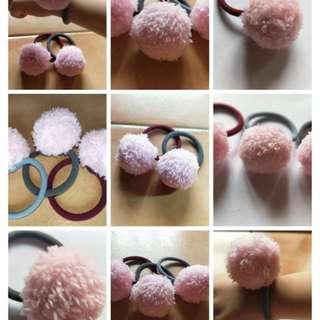 Fuffly puffy rubber band!! ( homemade/handmade)