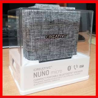 Creative wireless bluetooth rechargeable portable speaker NUNO