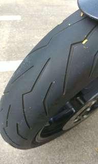 Pirelli Diablo Rosso 3 120/70,180/55