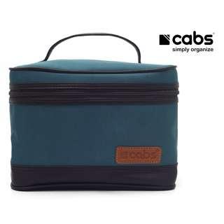 Cabs Pocket Cosmet - Tas Kosmetik Anti Air, Dompet Alat Make Up, Tas Organiser Tuk Bedak, Lipstik, Kaca, Eyeliner Dll - Tosca