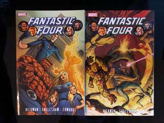 Fantastic Four volumes 1 and 2 graphic novels