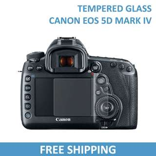 Canon 5D Mark IV Tempered Glass Screen Protector