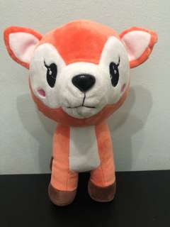 [FREE MAIL]BN deer soft toy