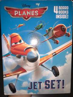 Disney Planes 4 sets Children Story Book