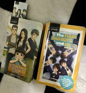 2WATTPAD BOOKS FOR 150