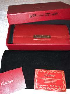 80%newCartier Love Wallet