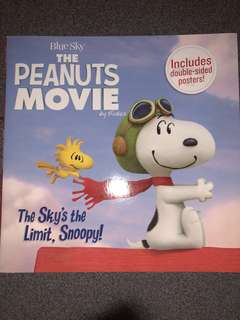 Snoopy, The Sky's the Limit, Children Story Book