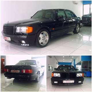 Mercedes Benz S Class W126 AMG Japan Version Body kit