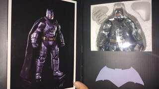 Armored Batman Iron Studios