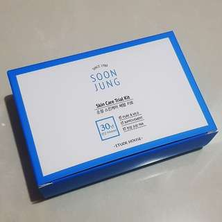 Soon Jung Skin Care Trial Kit - Etude House