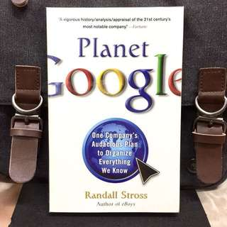 《Preloved Paperback + Exploring Google's Audacious Vision For The Future》Randall Stross - PLANET GOOGLE : One Company's Audacious Plan to Organize Everything We Know