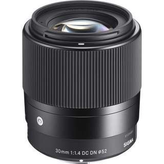 Sigma 30mm f/1.4 DC DN Contemporary Lens for Micro 4/3