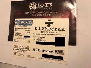 Ed Sheeran in Manila