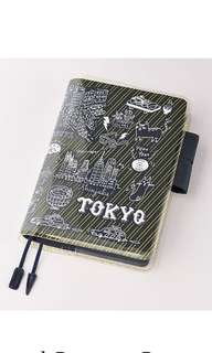 BN Hobonichi cover on cover Tokyo