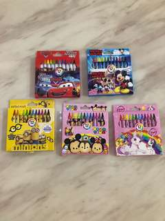Crayon for kids party gift, goody bag, goodies bag packages, door gift