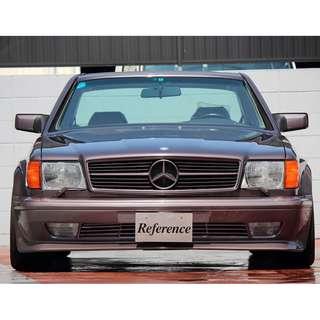 Mercedes Benz S Class W126 AMG front bumper