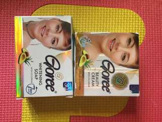 Authentic set of goree soap+cream