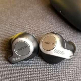 全新 Jabra Elite 65T 真*無線 藍牙5.0 防水 IP55 降噪耳機 有Mic 支持 iPhone Android 手機免提 Mobile