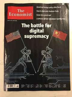 The Economist - The battle for digital supremacy (17-23 March 2018)