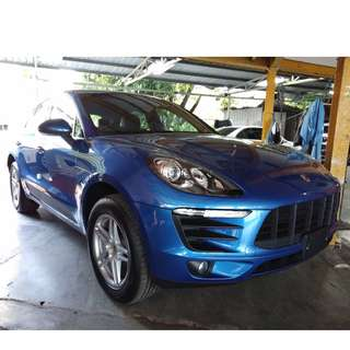 PORSCHE MACAN 2.0 TURBO  2015 UK UNREGISTERED UNIT