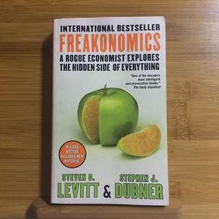 Freakonomics by Steven Levitt and Stephen Dubner