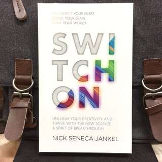 # Highly Recommended《Bran-New + Reconnect Your Heart, Rewire Your Brain, Remix Your World》Nick Seneca Jankel - SWITCH ON : Unleash Your Creativity and Thrive with the New Science & Spirit of Breakthrough