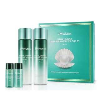 JM Solution Marine Luminous Pearl Deep Moisture Skin Care
