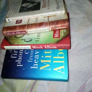Mitch albom 4 books