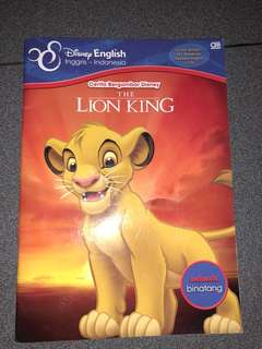 Disney Lion King, Bilingual Children Story Book