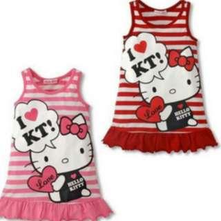 Pink Kitty Dress