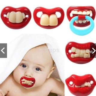Funny Baby Silicone Pacifier