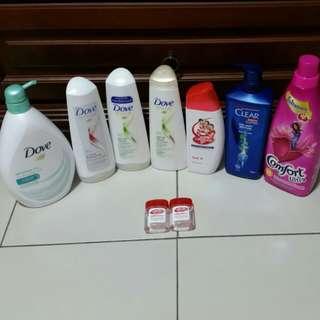 Brand New Shampoo/ Conditioner/ Sanitizer