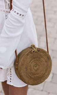 Ribbon Round Bag