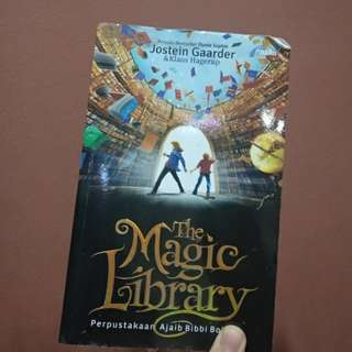 Novel The Magic Library - Jostein Gaarder