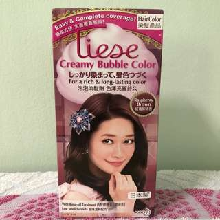 [INSTOCKS, LOWEST PRICE] Liese Creamy Bubble Colour - Raspberry Brown