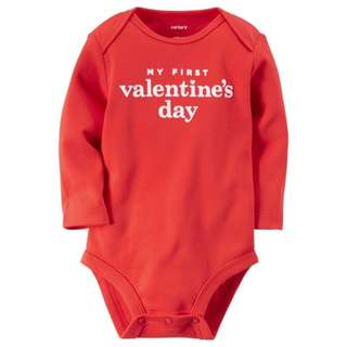 Carter's Collectible Bodysuit - My First Valentine's Day