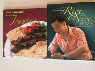 Cookbooks - Iranian & Malaysian recipes