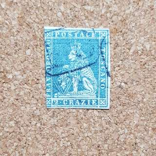 1860/63 ITALY STAMP