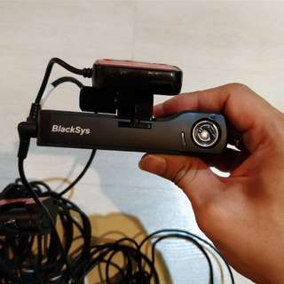 Blacksys full hd dash cam