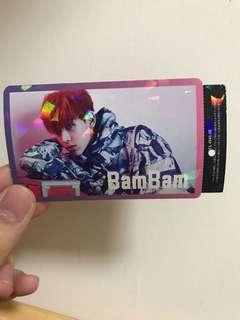 bambam日專卡