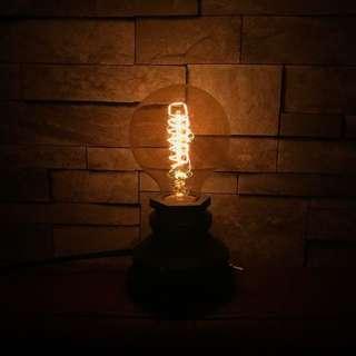 美式復古小燈座