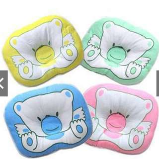 Baby Pillow Cushion Pad Prevent Flat Head - BLUE ONLY