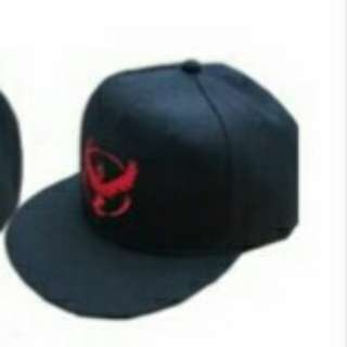 Pokemon Black Team Valor Cap