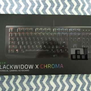BNIB BLACKWIDOW X CHROMA