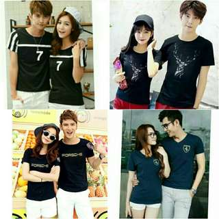 Tee shirt couple/korea fashion/tee shirt