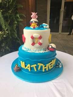 Fondant cake - pokemon - matthew