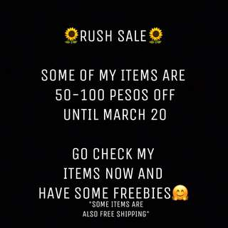 🌻RUSH SALE UNTIL MARCH 20🌻